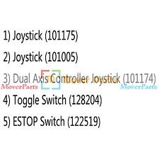 Joystick 101175 101005 101174 Toggle Switch 128204 122519 for Genie S125