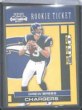 2001 Playoff Contenders Sample Rookie #124 Drew Brees