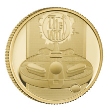 The Who 2021 UK Quarter-Ounce Gold Proof Coin - Limited Edition 1000