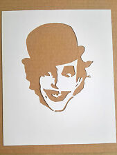 The Adicts Mr Hard cardboard Stencil, Clockwork Orange The Joker Droog Punk