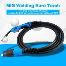 Mig Gas Shielded Welding Torch Mb15 X 4m Euro Standard Fitting Connector