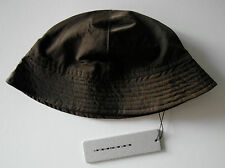 rick owens BROWN BOAT SAILOR HAT one size NEW bucket
