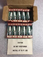 R57G Champion Spark Plugs - Box of 10 -NEW Old Stock NOS- Gold Palladium Racing