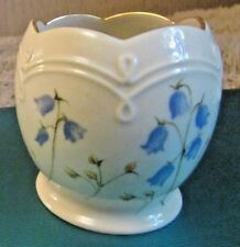 "Beautiful Lenox Fine Ivory China ""Blue & Yellow Floral Design"" Votive 3""T."
