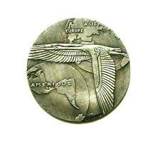 EXONUMIA MEDAL 13-20 DECEMBRE 1930 / WEIMAR REPUBLIC / SILVERED MEMORY TOKEN