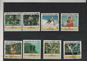 Oly.Spiele Los Angeles 1984 Poste  Eritrea