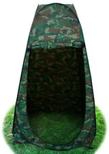 Camouflage Pop Up Dressing Changing Room Toilet Shower Beach Camping Hiking Tent