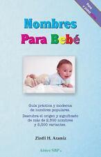 Nombres para Bebe by Zintli Aramiz (2013, Paperback)