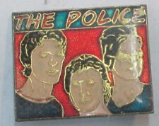 Police 2 Sting Vintage Metal Lapel Pin New From Late 80'S Heavy Metal Wow