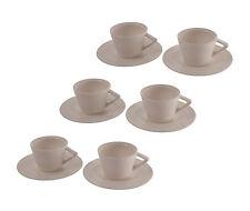 Bitossi - Set 6 tazzine Caffè con piattini
