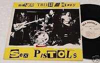 SEX PISTOLS:LP-NEVER TRUST A HIPPY-ORIGINALE EX