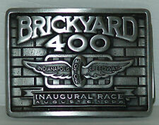 Inaugural 94 Brickyard 400 Pewter Buckle /2000 Made Indianapolis Motor  Speedway