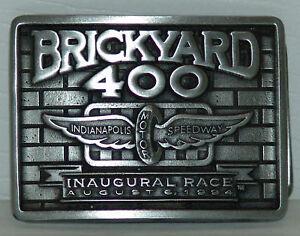 Inaugural 94 Brickyard 400 Pewter Buckle /2000 Made Indianapolis Motor  Speedway