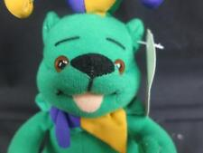 NEW PLAY-BY-PLAY MARDI GRAS GREEN YELLOW PURPLE TEDDY BEAR FAT TUESDAY'S PLUSH