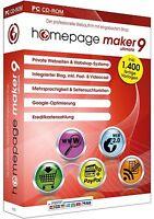 Homepage maker9 Ultimate (2012)