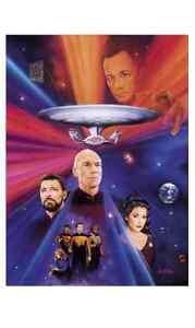 Star Trek The Next Generation - 7th Anniversary Poster