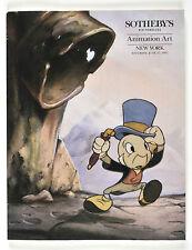 Sotheby's Animation Art & Collector's Carrousel Catalog Disney Beatles Hendrix