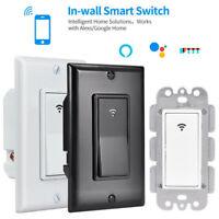 WIFI Smart Wall Light Touch Switch App Timer 1 Gang Alexa Google Home IFTTT US