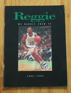 REGGIE LEWIS (1965-1993) Retirement No. 35 March 22, 1995 BOSTON CELTICS Program