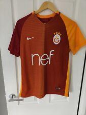 Galatasaray 2016 / 2017 Home Football Shirt - Men's Small Nike Turkey