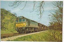 Dawlish Warren Railway Mus. PPC; Class 25 Loco D5277 (25127) At Buxworth, Unused