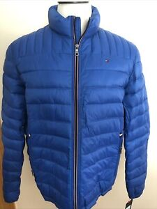 Tommy Hilfiger New Men's Full Zip Packable Jacket Coat Size XL