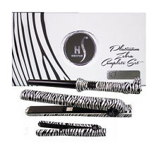 Platinum HerStyler Zebra Gift Set Kit Includes Straightener Mini Straightener