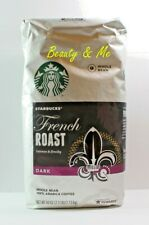 STARBUCKS French Roast DARK Whole Bean 100% Arabica Coffee 40 oz / 2.5 lb