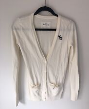 Girls Ivory Cardigan Abercrombie And Fitch Kids Size XL Brand New