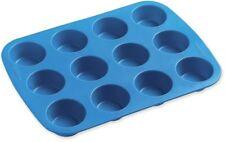 Wilton Easy-Flex Silicone Bakeware, 12 Cavity Mini Muffin Pan, 2105-4829