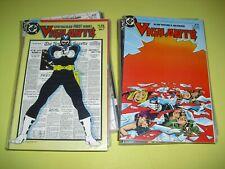 Vigilante 1-31 + Annual 1 all around Vf/Nm Dc 1983 Alan Moore 2 3 4 5 6 7 8 1213