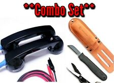 Electrician Knife/Scissor Set and Continuity Test Phones