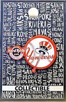 Hard Rock Cafe Yankee Stadium Pin Core Yankee Baseball Logo 2017 New LE # 96184