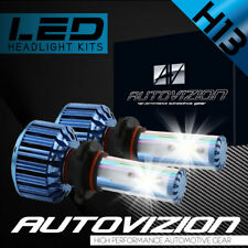 AUTOVIZION LED HID Headlight H13 9008 6000K for Nissan NV3500 2012-2017