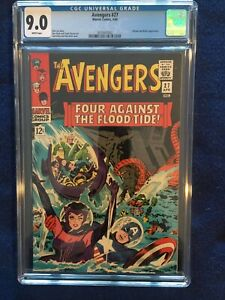 Avengers #27 - CGC 9.0 - White Pages