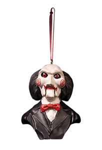 Billy Saw Puppet Halloween Ornament Collectable Christmas Hanging Decoration