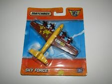 Matchbox Sky Busters Sky Force cargo plane airplane sealed on card