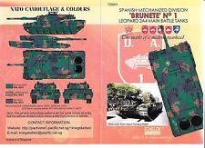 Echelon Spanish Leopard 2A4 MBT, Brunete No. 1 Decals 1/35 T 35001 ST