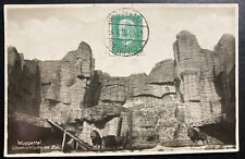 1939 Wuppertal Germany RPPC Postcard Cover To Paris France Lions Cage