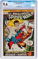 The Amazing Spider-Man #111 (8/72, Marvel) ~ CGC 9.6 Kraven & Gibbon Appearance