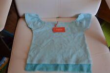 tee shirt neuf marese 8 ans bleu lagon