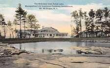 Mt McGregor New York Metro Sanatorium Refectory Antique Postcard K52997