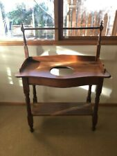 Antique Timber Wash Stand lovingly restored
