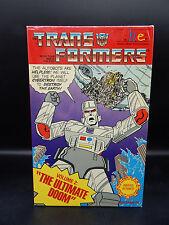 1984 vintage original Transformers FHE Ultimate Doom VHS tape Megatron BIG BOX !