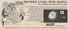 W1819 Orologio TISSOT Visodate - Pubblicità 1958 - Vintage Advertising
