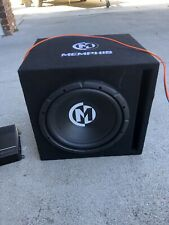 12 Inch Memphis Subwoofer With Amp