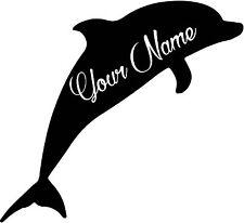 Custom Dolphin vinyl decal sticker for car/truck laptop window custom