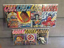 SONIC DISRUPTORS (1987) #1 2 3 4 5 6 7 1-7 COMPLETE SET DC COMICS