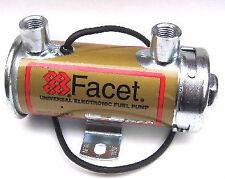 WEBER/DELLORTO/SOLEX/SU CARBS FACET RED-TOP 12V ELECTRIC FUEL PUMP
