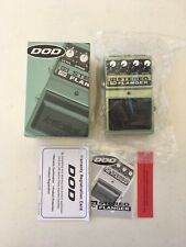 DOD Digitech FX75C Stereo Flanger Rare Vintage Guitar Effect Pedal New Old Stock